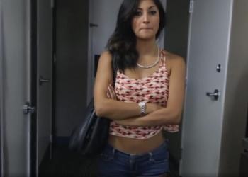 Jovencita pija hace un casting porno para ganar dinero