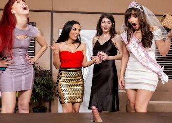 La despedida de soltera de una actriz porno termina con mucho sexo